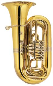 CERVENY Bb Tuba, Arion 4, Messing, lackiert, 4 Ventile CVBB683-4