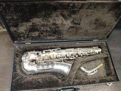 Weltklang Saxophon Alto , Vintage, gebraucht