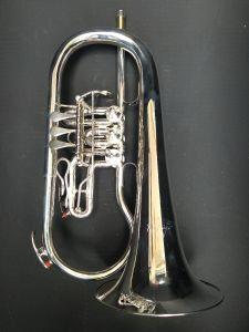 """Kröger-Trumpets,  Flügelhorn Drehventil gebraucht"
