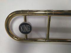 King Zug-Poaune 3 B , gebraucht, Etui