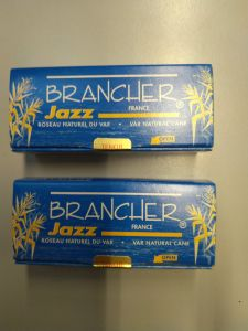 Brancher Tenorsaxophonblätter Reeds, Jazz , 3, (2Pack)