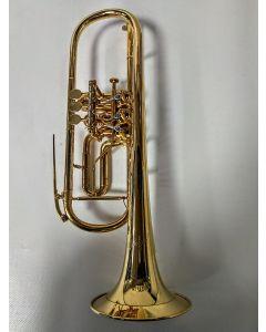 Kröger-Trumpts, Bb-Trompete Drehventil, gebr.