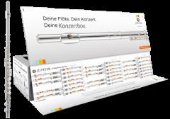 Querflöte JUPITER JFL700 EC Konzertbox