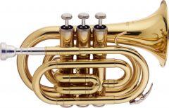 Taschentrompete / Pockettrompete, Bb,  Stagg WS-TR245