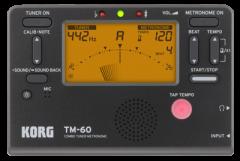Tuner Metronome Korg TUTM60BK
